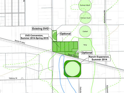 PG&E submits Agricultural Treatment Units Report to WB to begin construction of an additional 91 acres