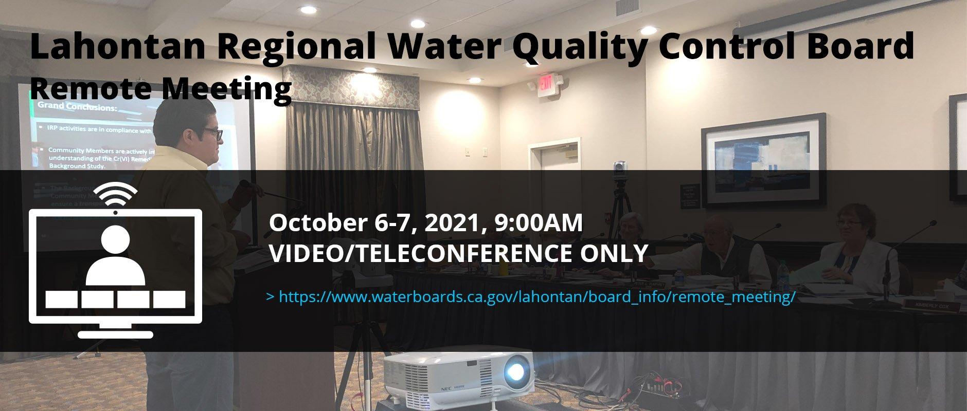 Quarterly Hinkley Community Meeting, October 6-7, 2021